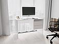Письменный стол СП-8 с тумбой Белый, фото 3