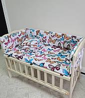 """Бортики-защита в кроватку """"Классик"""", защита в детскую кроватку (действует оплата картой """"Пакунок малюка"""")"""