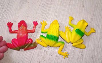 Игрушка антистресс Лягушка резиновая 13-4 (3шт)