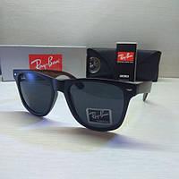 Окуляри сонцезахисні Ray Ban колір чорний, фото 1