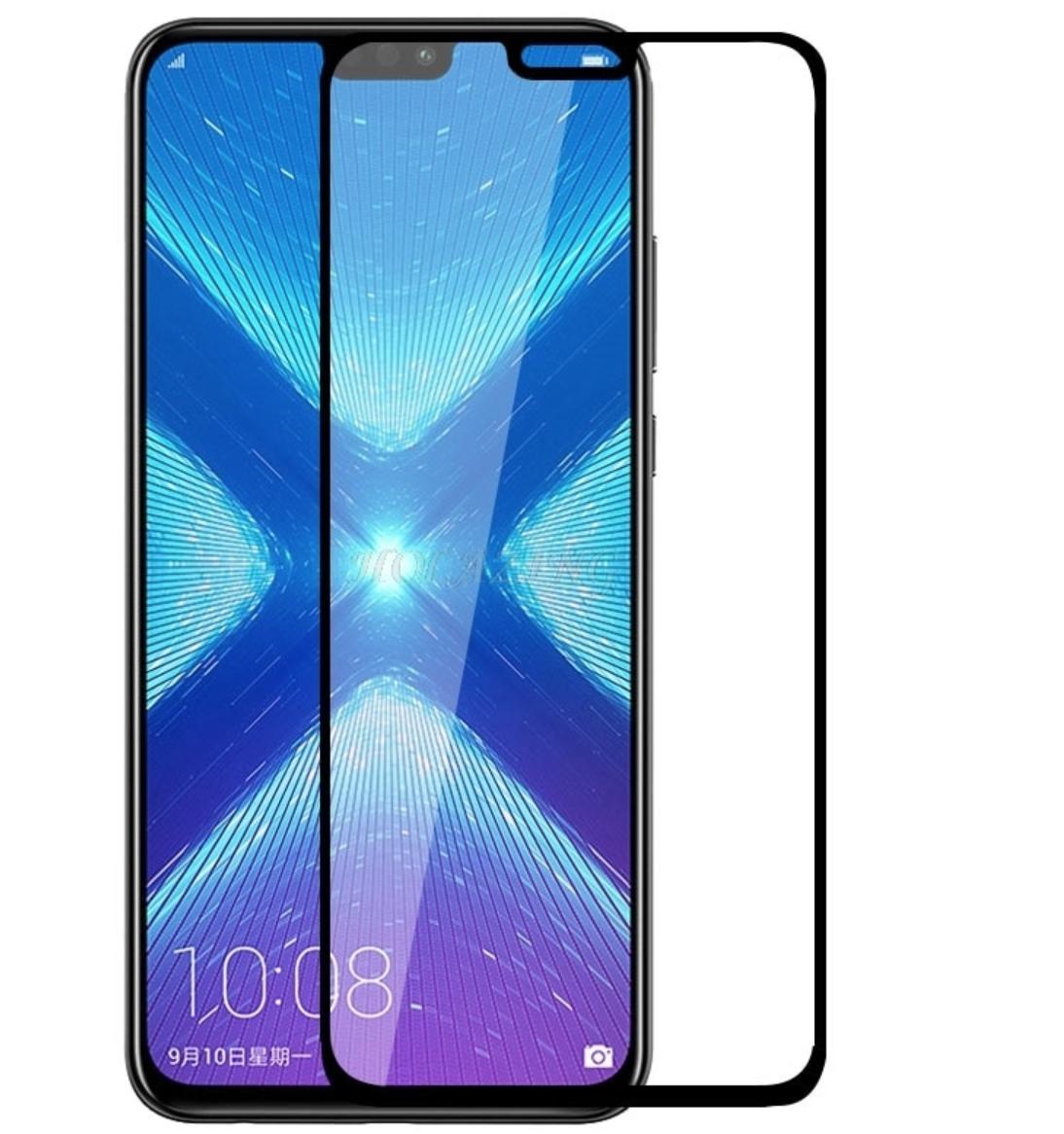 Премиум 5D стекло для Huawei Honor 9X Lite / полный клей / Есть чехлы /