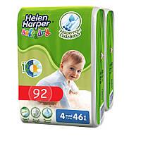 Підгузники дитячі Helen Harper Soft&Dry 4 Maxi (7-18 кг) 92 шт