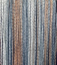 Шторы нити Радуга Дождь  кисея 3х3м Белый Серый Персиковый с люрексом