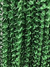 Шторы нити Спиральки  3х3м Изумруд