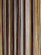 Шторы нити кисея Радуга 3х3м Белый Шоколадный Бежевый без люрекса
