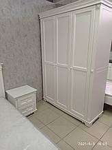 Спальня МДФ (двоспальне Ліжко, приліжкові тумби 2шт., шафа платтяна 3-х дверна)