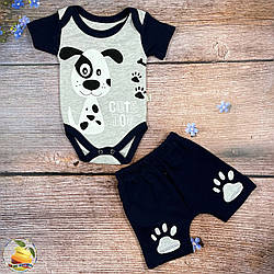Боді і шорти для малюка Розміри: 62,68,74,80 см (02019)
