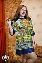 Платье-туника из трикотажа | Венеция 1 lzn, фото 3