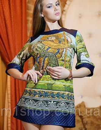 Платье-туника из трикотажа | Венеция 1 lzn, фото 2