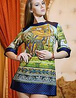 Платье-туника из трикотажа | Венеция 1 lzn