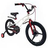 Велосипед Crosser Magnesium bike 16 дюйма сталева вилка, фото 4
