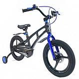 Велосипед Crosser Magnesium bike 16 дюйма сталева вилка, фото 3