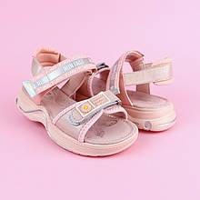 9081B Босоножки детские розовые спортивные для девочки тм Том.м размер 30,31,32,34