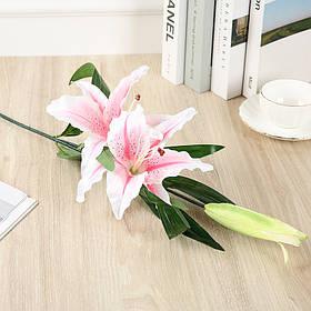 Ветка Лилии Розовая (70см)