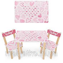 *Набор мебели - столик и 2 стульчика арт. 501-118(UA)