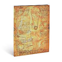 Блокнот Paperblanks Леонардо да Винчи Большой (18х23 см) в Линию Мягкий (9781439744574), фото 1