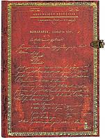 Блокнот Paperblanks Наполеон Средний (13х18 см) в Линию (9781439754184), фото 1