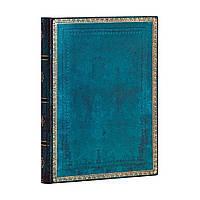 Блокнот Paperblanks Старая Кожа Мягкий Средний (13х18 см) в Линию Синий Калипсо (9781439756348), фото 1