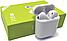 Бездротові Сенсорні Навушники I18 TWS Bluetooth з Боксом AirPods i8,i7 i12 i16 Навушники для IOS і Android, фото 2
