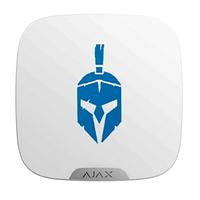Лицевая панель Ajax Brandplate для брендирования уличной сирены StreetSiren DoubleDeck (10 шт.) white