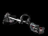 Акция ! Бесщеточный аккумуляторный  триммер PowerWorks  60V (GreenWorks 60 V )  с АКБ 2.5Ah и ЗУ PD60LTK25, фото 2