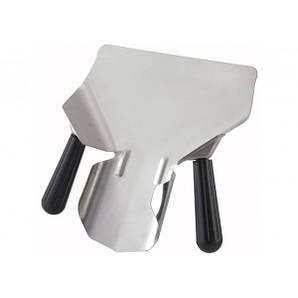 Совок для картофеля фри (с двумя ручками), нержавеющая сталь