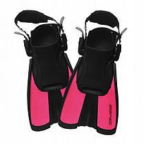 Ласти SportVida SV-DN0008JR-L Size 39-43 Black/Pink, фото 2
