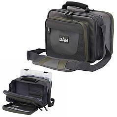 Сумка DAM Small Tackle Bag для риболовлі багатофункціональна + 2 коробки 30х20х25 см