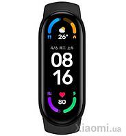 Фитнес-браслет Xiaomi Mi Band 6 Black ORIGINAL (XMSH15HM) (BHR4955CN)