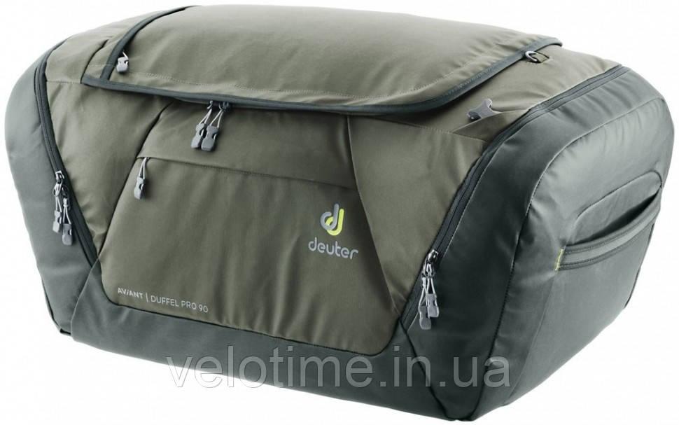Сумка-рюкзак Deuter Aviant Duffel Pro 90  (khaki-ivy)