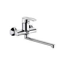 Смеситель для ванны Haiba Focus 006 EURO SATIN HB0119, КОД: 2415448