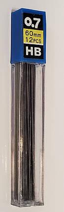 Грифель для механічного олівця 0,7мм HB, фото 2
