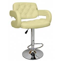 Барный стул со спинкой Bonro B-823A бежевый