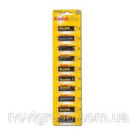 Лужна Батарейка KODAK MAX LR6, 10шт у блістері, ціна за блістер