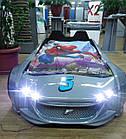 Детская кровать машина  Exit Toys Ягуар Серая металлик, фото 4