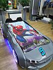 Детская кровать машина  Exit Toys Ягуар Серая металлик, фото 5