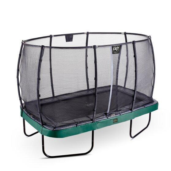 Батут EXIT Elegant Premium прямоугольный 214х366 cm green