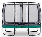 Батут EXIT Elegant Premium прямоугольный 214х366 cm green, фото 2