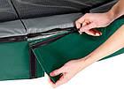 Батут EXIT Elegant Premium прямоугольный 214х366 cm green, фото 3