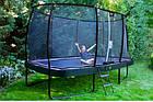 Батут EXIT Elegant Premium прямоугольный 214х366 cm green, фото 8