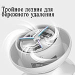 Машинка для удаления катышков аккумуляторная 1200 мАч Wi-remove ВХ01. Машинка от катышек портативная+2 лезвия, фото 2