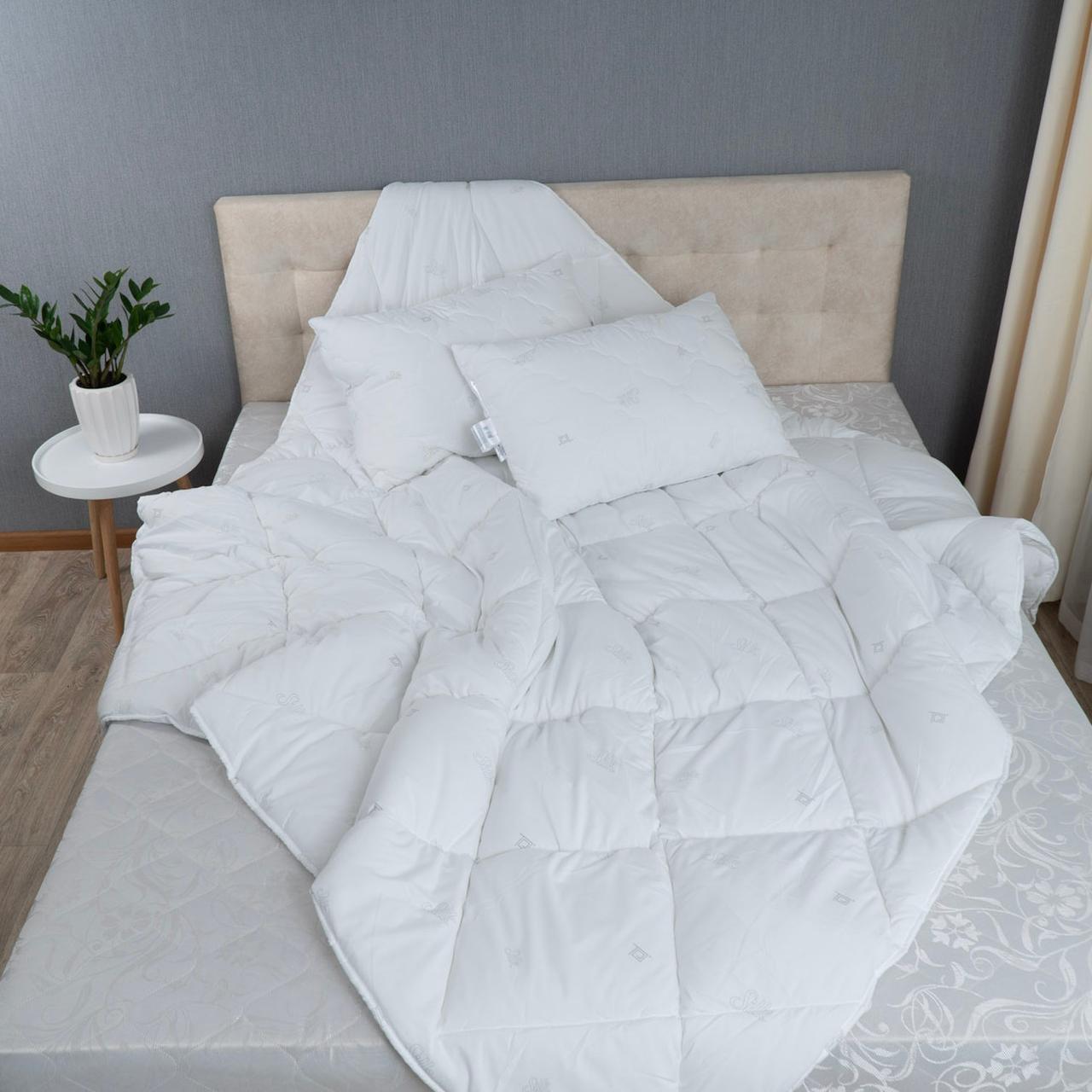 """Комплект ТЕП """"Harmony"""" Silk ковдру + подушки 50х70 см"""