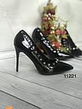 Туфлі жіночі класичні  червоні, фото 2