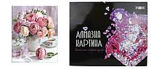 Алмазна картина FA40435 «Букет ніжних троянд», розміром 40х50 см