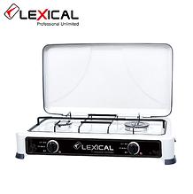 Газовая плита LEXICAL LGS-2812-1 на 2 конфорки  3.7KW, Последнее поступление