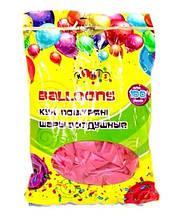 """Кульки 2,8 грам, 12 """", перламутрові 100шт кольору: Малиновий"""