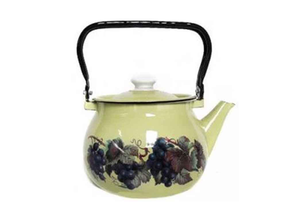 Чайник емальований 2,5л/4 Різне (I27101/4) ТМ IDILIA