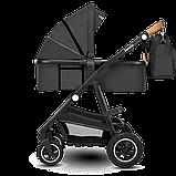 Универсальная коляска 2 в 1 Lionelo AMBER GREY GRAPHITE, фото 2