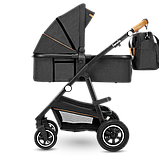 Универсальная коляска 3 в 1 Lionelo AMBER GREY GRAPHITE, фото 5