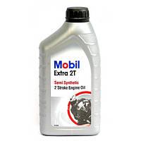 Полусинтетическое масло для двухконтактных двигателей Mobil Extra 2T(1л.)